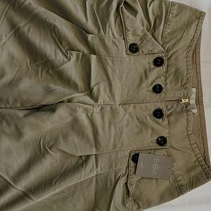Anthropologie Wide-legged Khaki Pants